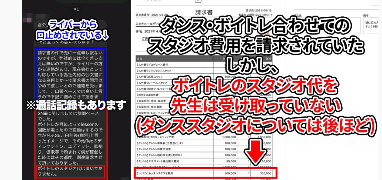 青実王子と飯田会長の架空請求の戦い